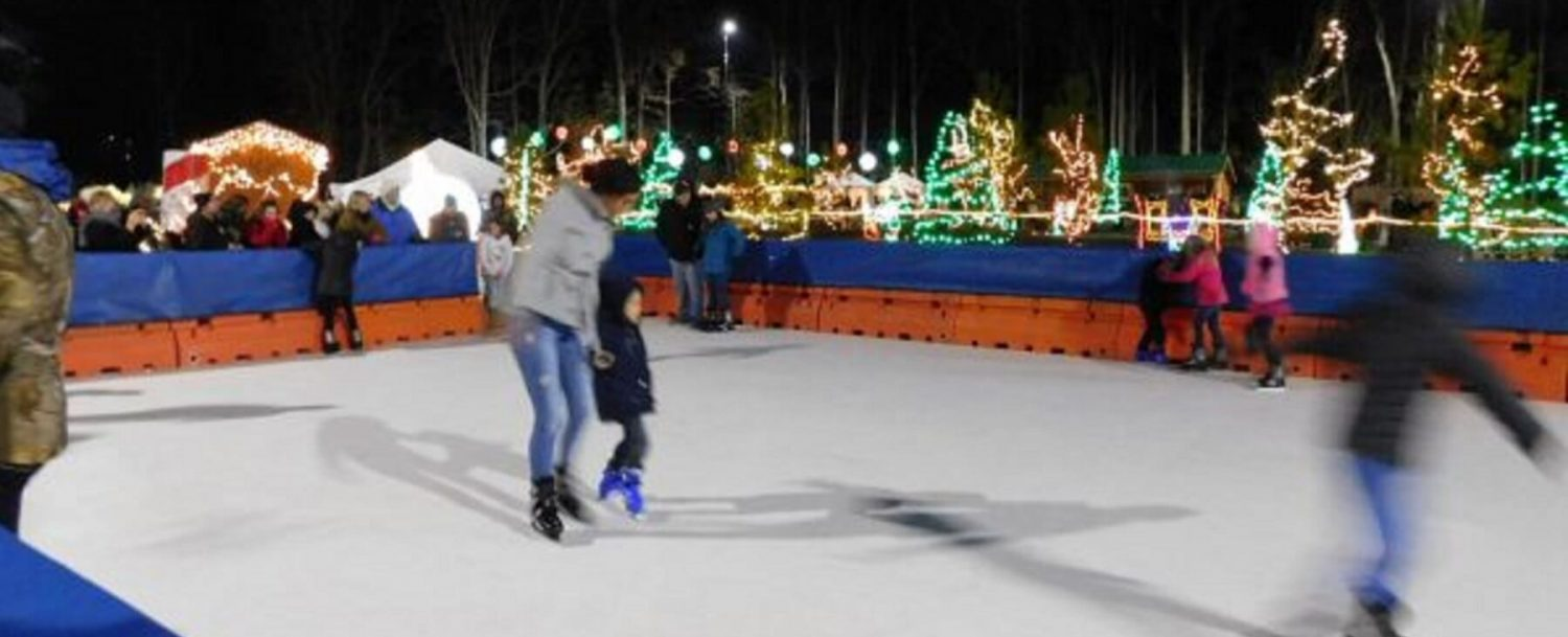 Great-Xmas-Light-Show-Skating-Rink