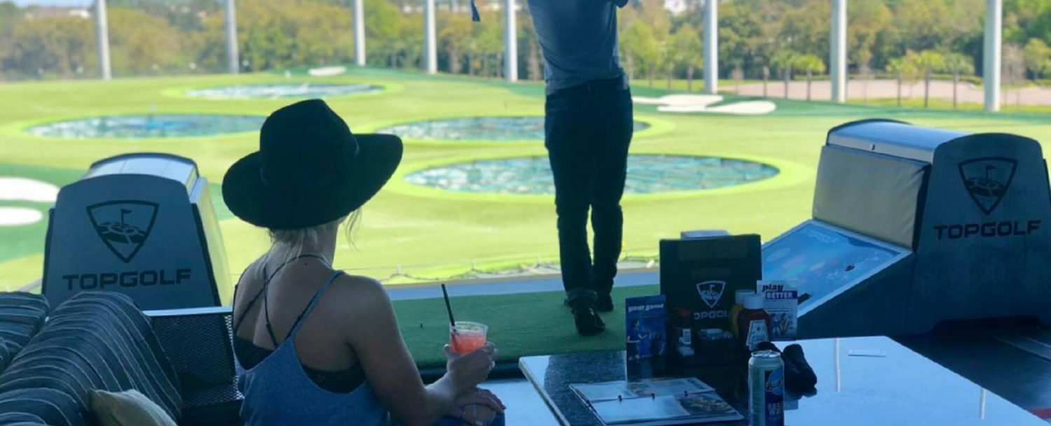 Top Golf and Drinks